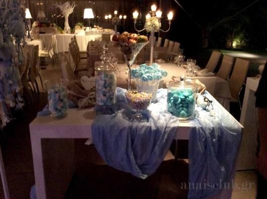 Τραπέζι ευχών βάπτισης